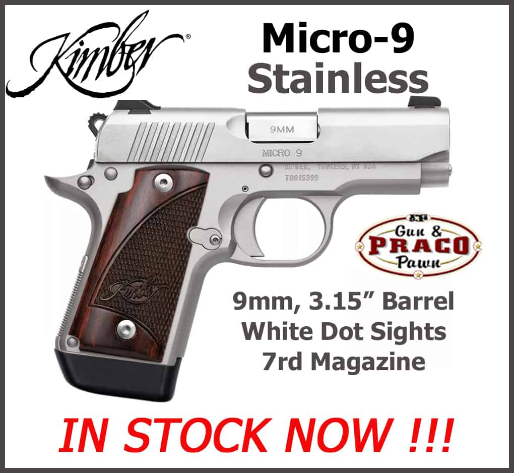 Kimber-Micro9-Stainless-Praco-New-Arrivals